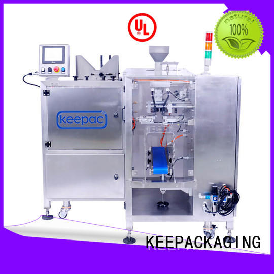 Keepac adjustable mini doypack machine factory direct for food
