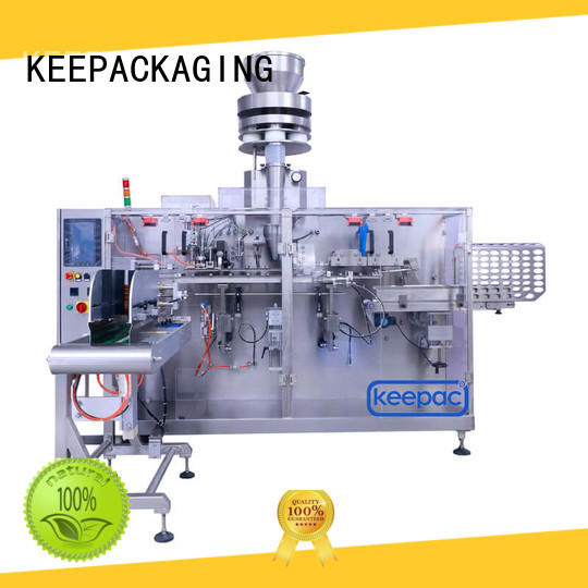 safe horizontal packing machine cup customized for food