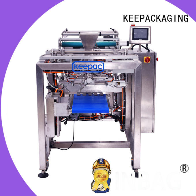 PE tubular auto packing machine manufacturing for standup pouch