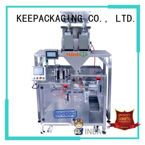 high quality form fill seal machine duplex design for food