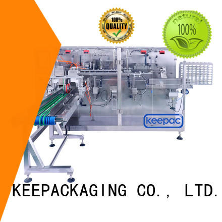 Keepac staight flow design low cost packing machine customized