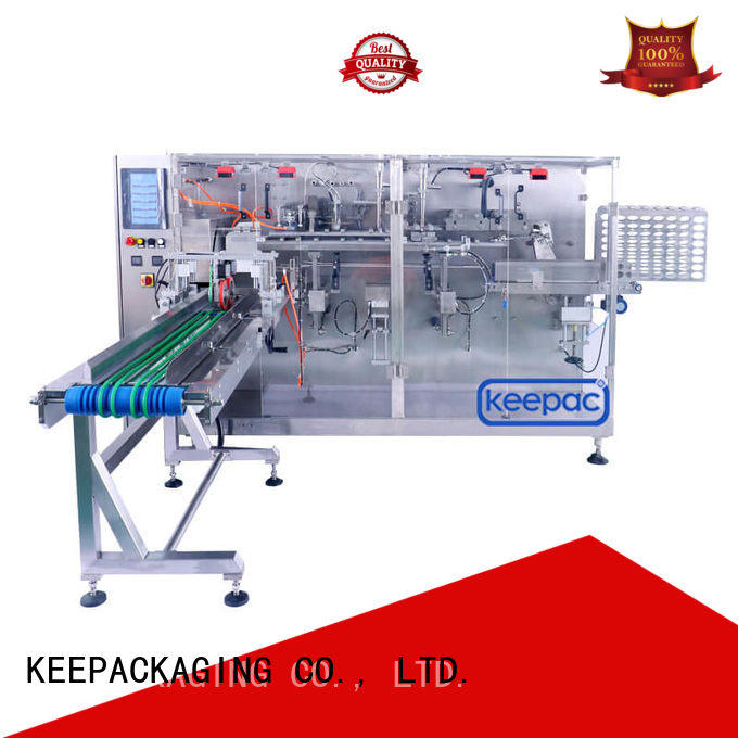 Top horizontal packing machine linear factory for food