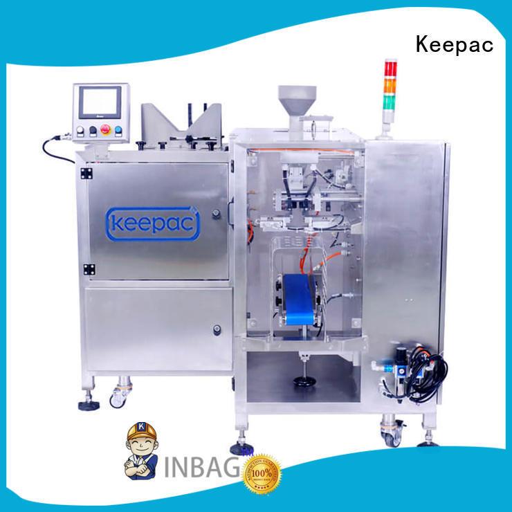Custom mini auto food packaging machine Keepac cost