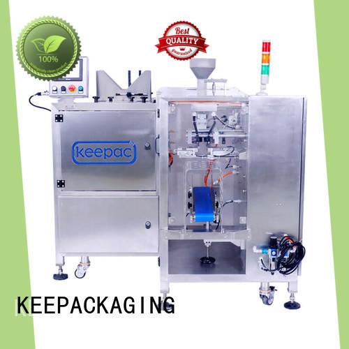 Keepac efficient chips packaging machine customized for food