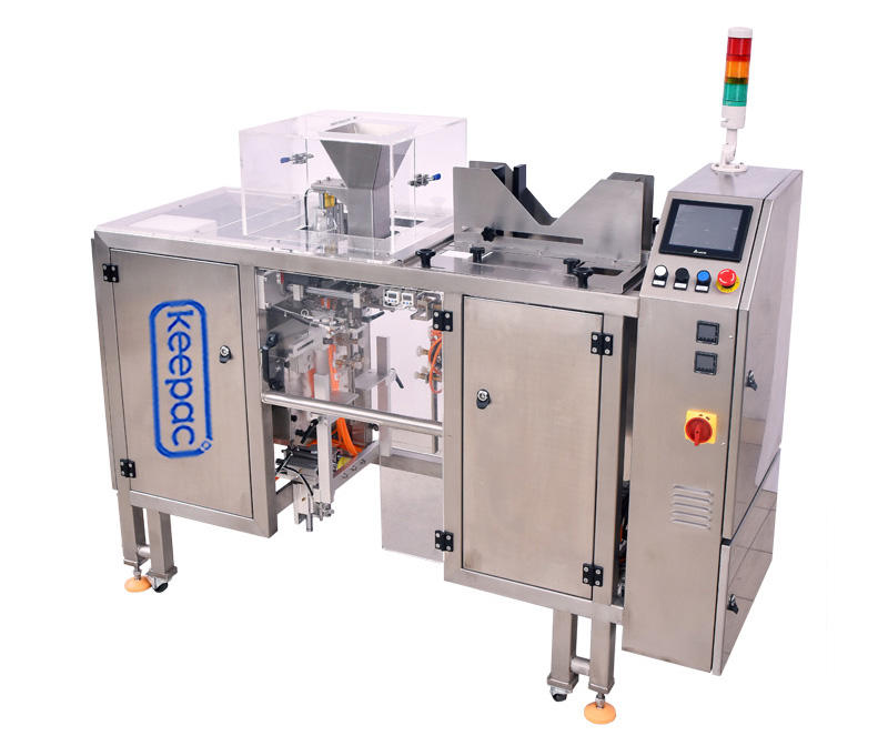 Keepac low cost chips packaging machine customized for pre-openned zipper pouch-3