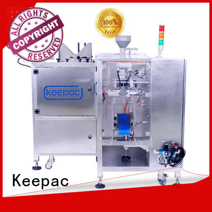 Keepac stainless steel 304 snack food packaging machine factory direct for food