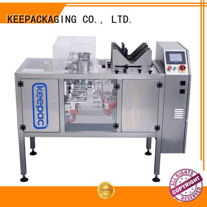 Keepac quick release mini doypack machine for business for beverage