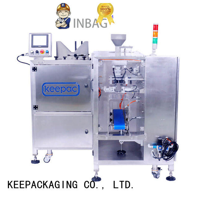 fully automatic packing machine different sized for pre-openned zipper pouch Keepac