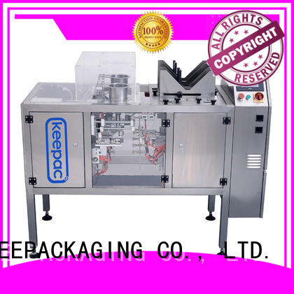 Keepac different sized mini doypack machine manufacturing for beverage