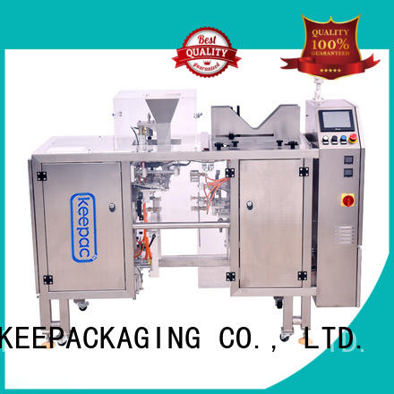 Keepac stainless steel 304 snack food packaging machine customized for food