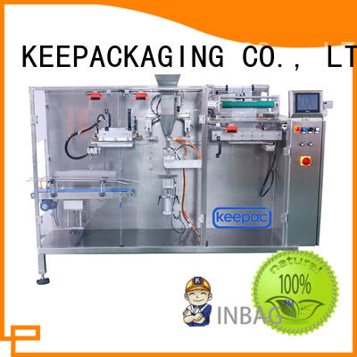 Keepac staight flow design dry food packing machine factory for food