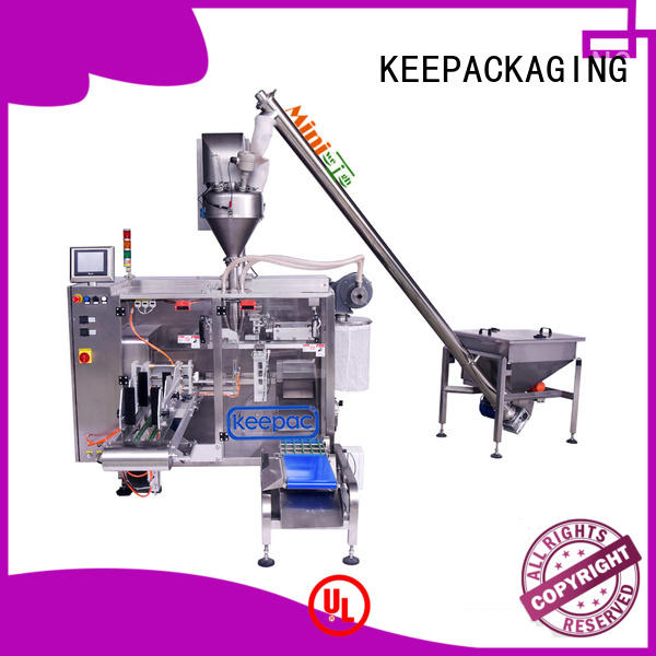 Keepac staight flow design powder pouch packing machine supplier for food