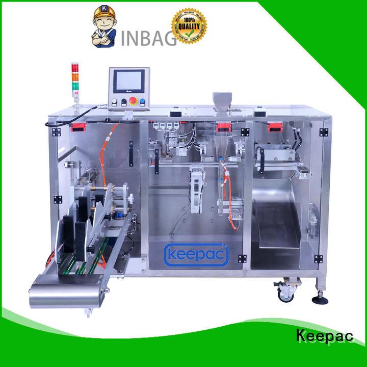 Keepac high quality chocolate packing machine duplex for zipper bag