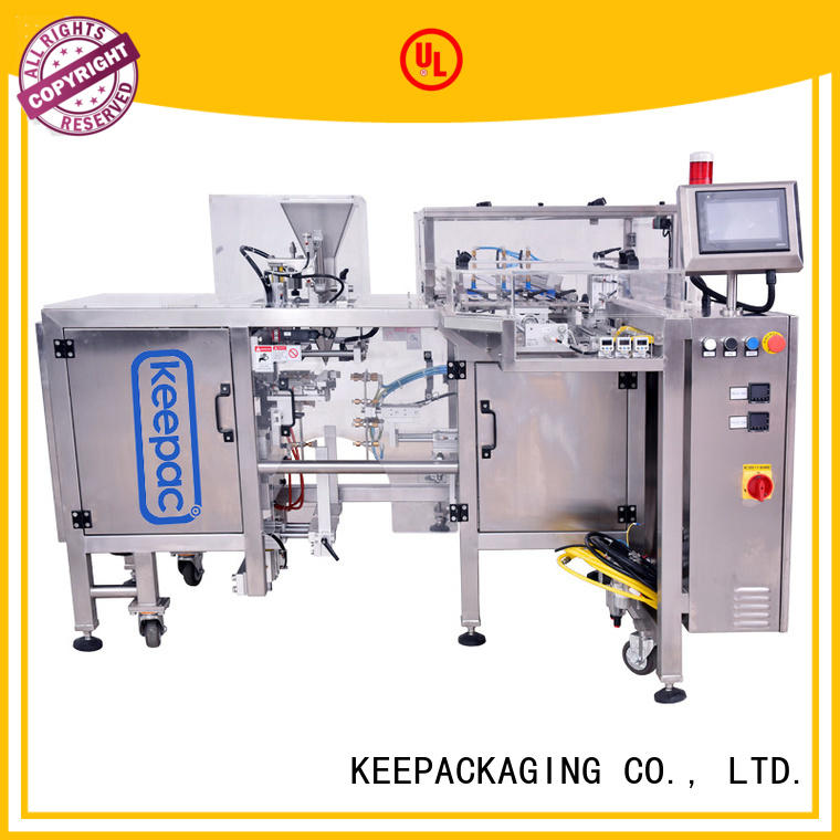 Keepac different sized food packaging machine manufacturing for food