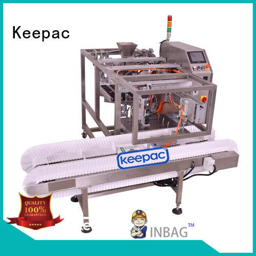 adjustable food packaging machine multi bag format wholesale for pre-openned zipper pouch