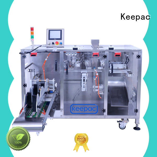 high quality horizontal form fill seal machine staight flow design manufacturer for zipper bag