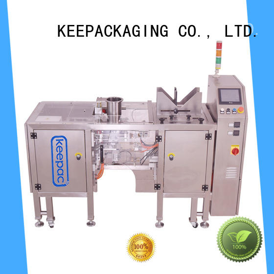 Keepac Custom automatic grain packing machine for business for pre-openned zipper pouch