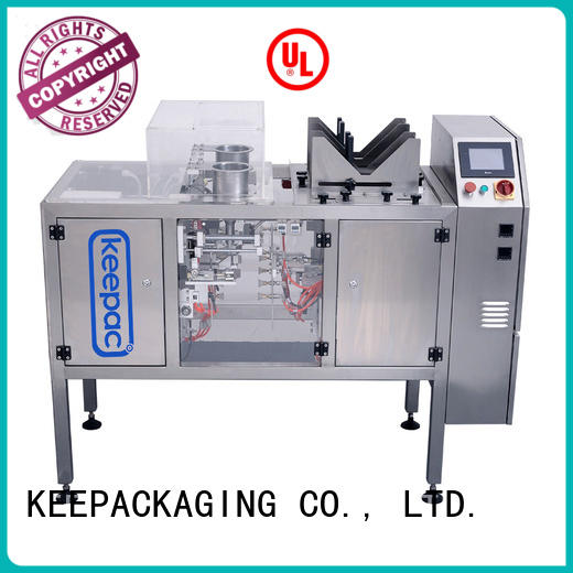 Keepac mini small food packaging machine wholesale for pre-openned zipper pouch