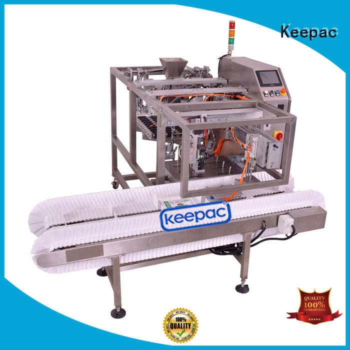 Keepac multi bag format doypack machine customized for pre-openned zipper pouch