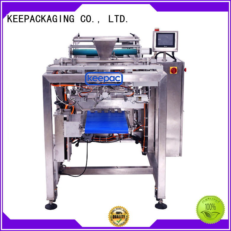 PE tubular milk packing machine minitube for zipper bag Keepac