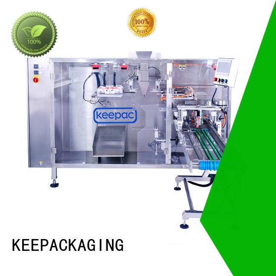 Keepac Latest plastic pouch packing machine company for 3 sides sealed pouch