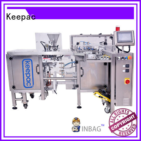 Keepac multi bag format small food packaging machine factory direct for pre-openned zipper pouch