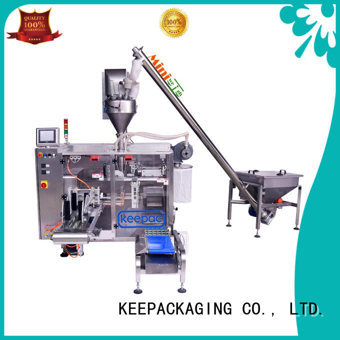 Keepac 8 inches powder packing machine design for food