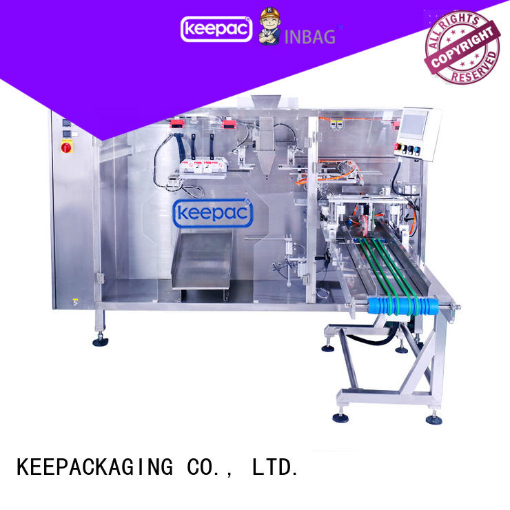 New pouch packing machine easy to clean for business for standup bag