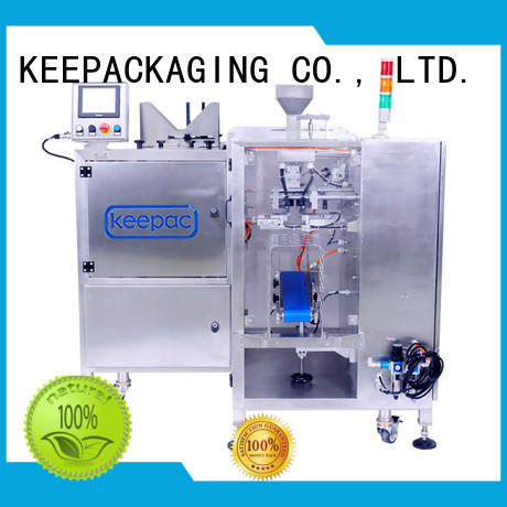 stainless steel 304 product packaging machine multi bag format for food Keepac