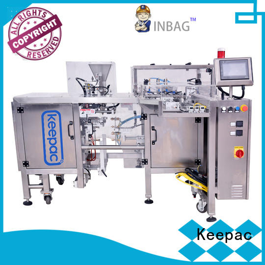 cost-effective small food packaging machine multi bag format wholesale for pre-openned zipper pouch