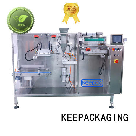 Keepac pouch industrial packaging machines customized for beverage