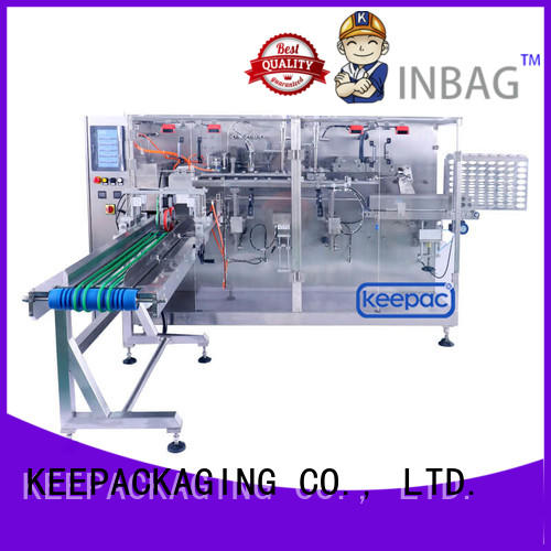 filler types of packaging machines supplier for commodity Keepac