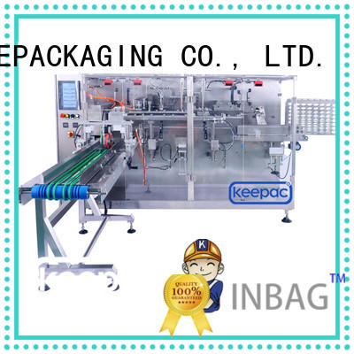 easy adjustable candy packing machine spout for beverage Keepac
