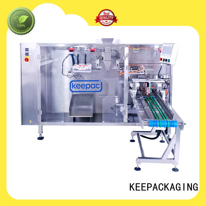 Keepac automatic milk pouch packing machine manufacturer for standup bag