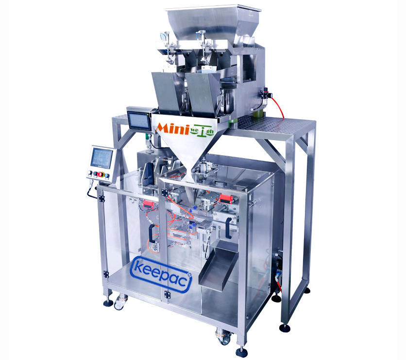 Keepac professional automatic powder packing machine staight flow design for standup pouch-3