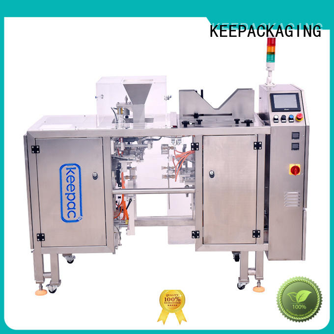 automatic grain packing machine multi bag format wholesale for pre-openned zipper pouch