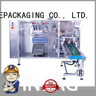 straight flow design water pouch packing machine supplier for standup bag