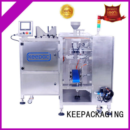 Keepac mini automatic grain packing machine manufacturing for beverage