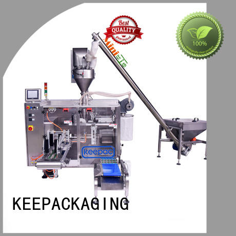 Keepac staight flow design automatic powder packing machine manufacturer for food