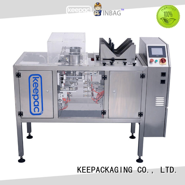 Keepac good price chips packaging machine wholesale for pre-openned zipper pouch