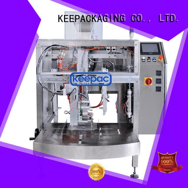Keepac stainless steel 304 doypack machine manufacturing for beverage