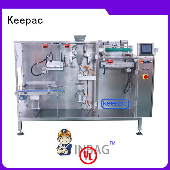 Keepac pouch automatic chips packing machine manufacturer for food