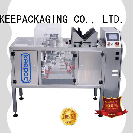 Keepac mini mini doypack machine factory direct for beverage