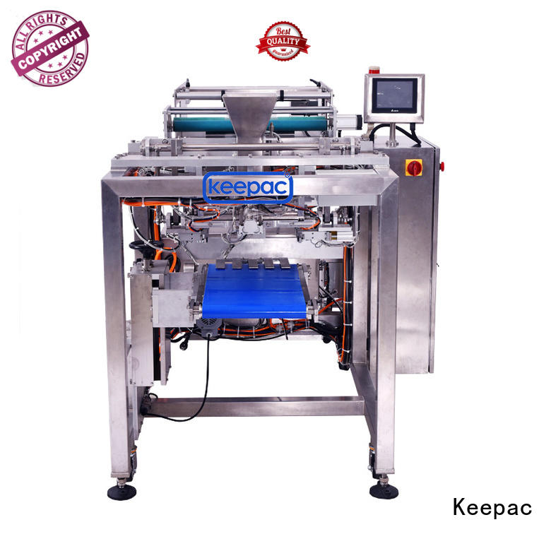 Keepac minitube milk packing machine customized for standup pouch