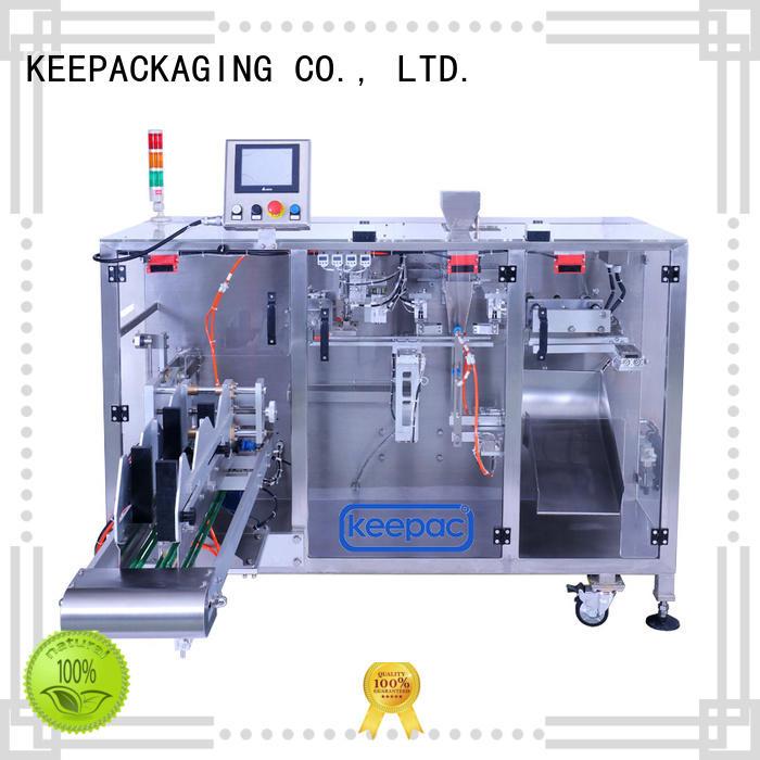 Keepac efficient powder packing machine supplier for zipper bag