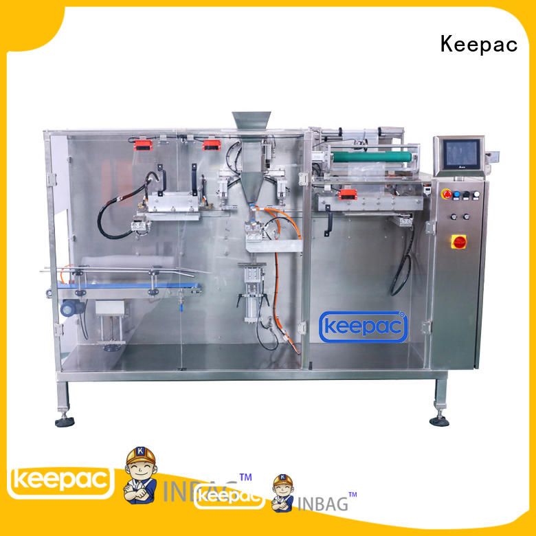 Keepac multi bag format packaging machine design manufacturer for commodity