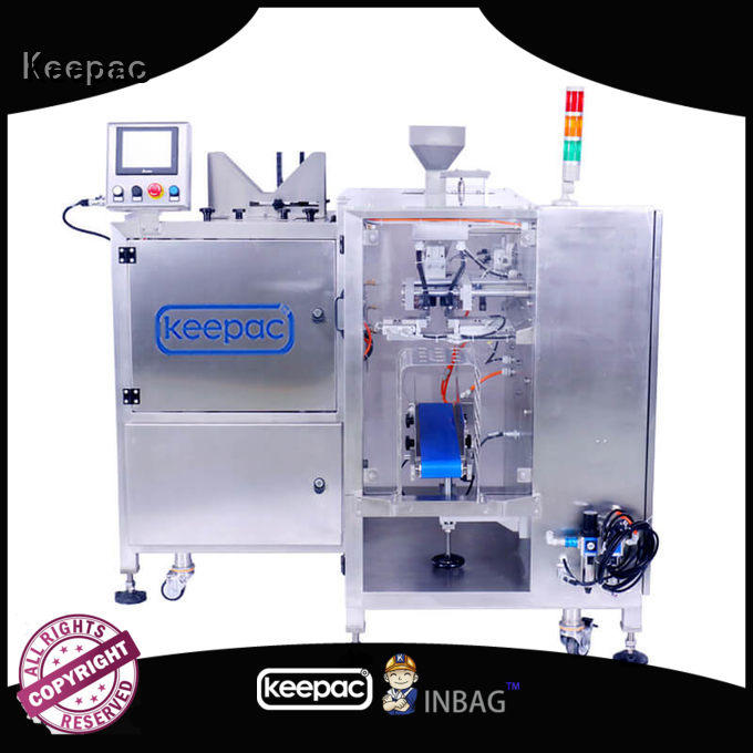 Keepac adjustable food packaging machine manufacturing for food