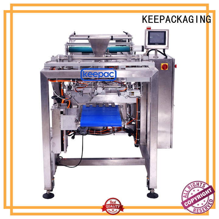 Keepac straight flow design milk packing machine wholesale for zipper bag