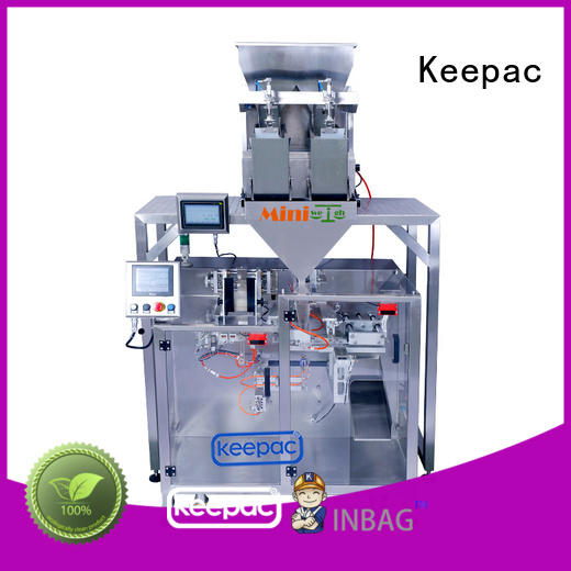 Keepac convenient milk powder packing machine manufacturer for zipper bag