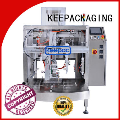 packing pouch machine food packaging machine Keepac Brand